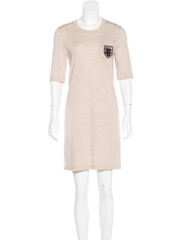 Chanel Paris-Edinburgh Wool Knit Dress None