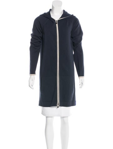 Chanel Hooded Cashmere Sweatchirt None
