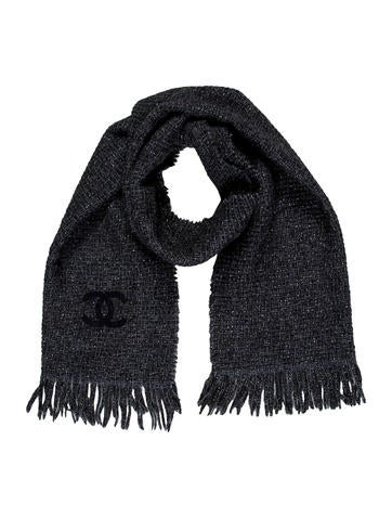 Chanel Knit CC Scarf None