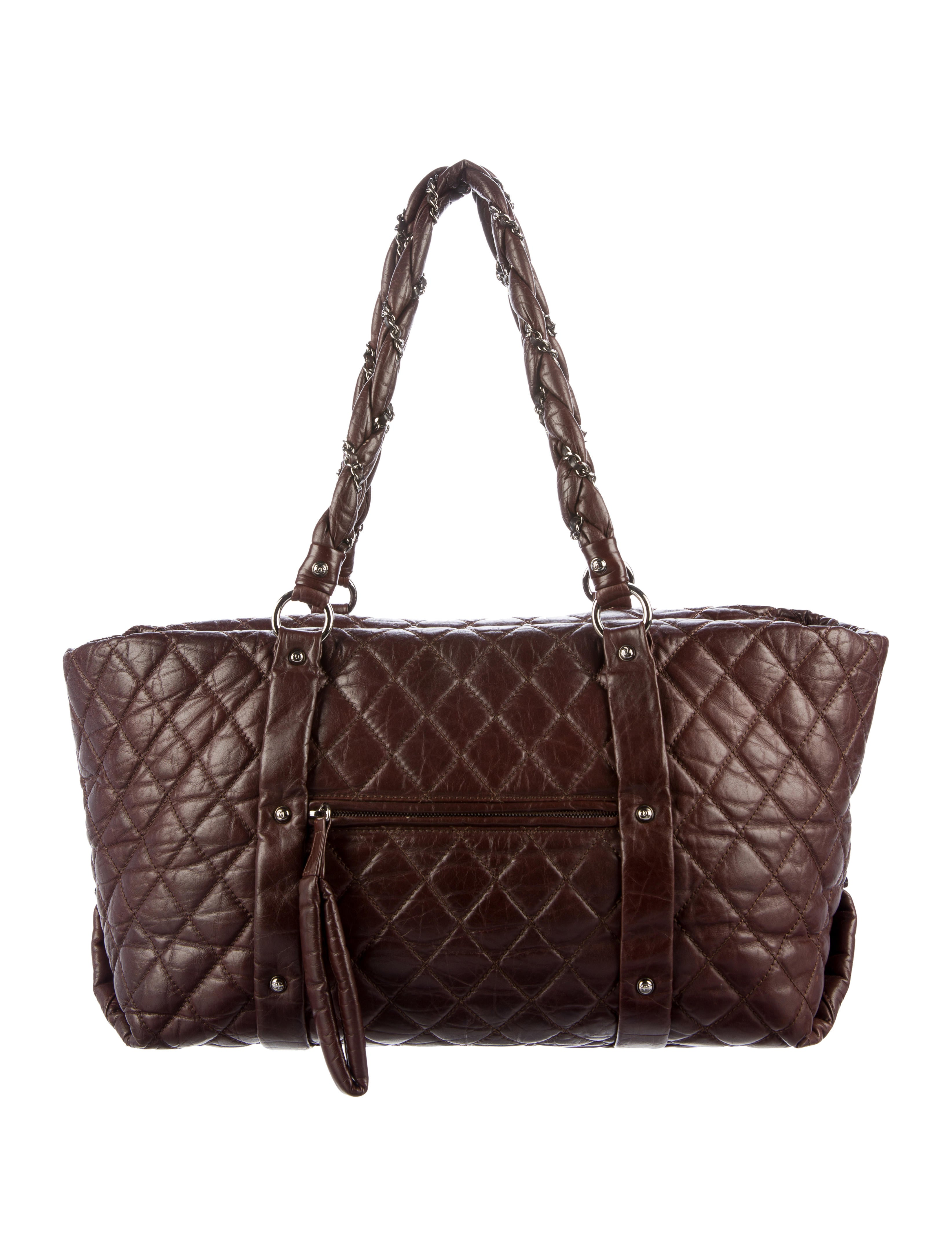 8fc5cb0f1598 Chanel Large Quilted Lady Braid Tote - Handbags - CHA142195 | The ...