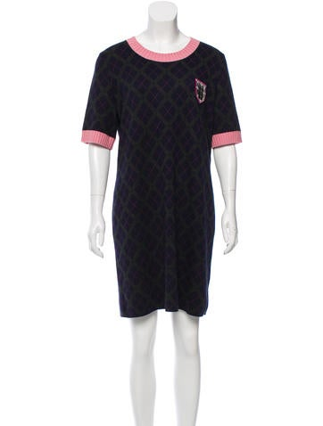 Chanel Cashmere Knit Dress None