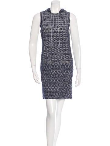 Chanel 2015 Metallic Knit Dress None