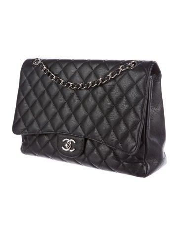 Caviar Maxi Single Flap Bag
