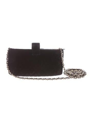 2015 Quilted Velvet Phone Bag