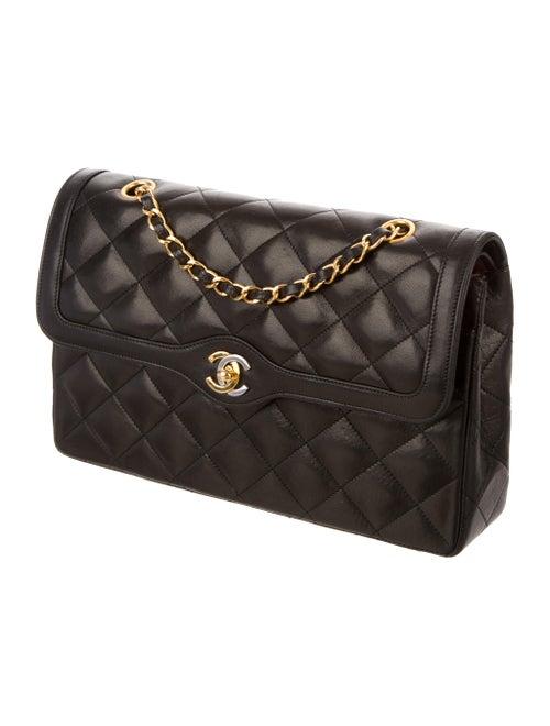 f5405570cd7f04 Chanel Two-Tone Paris Double Flap Bag - Handbags - CHA143106 | The ...