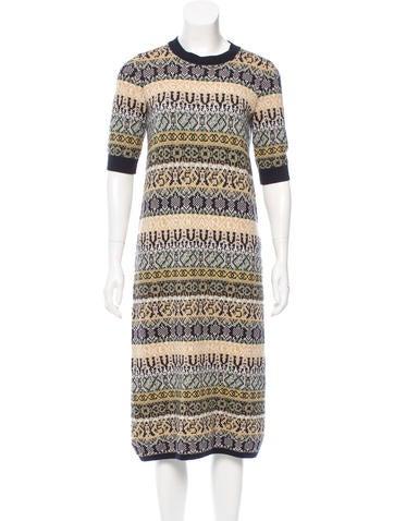Chanel 2016 Paris-Rome Cashmere Dress w/ Tags None