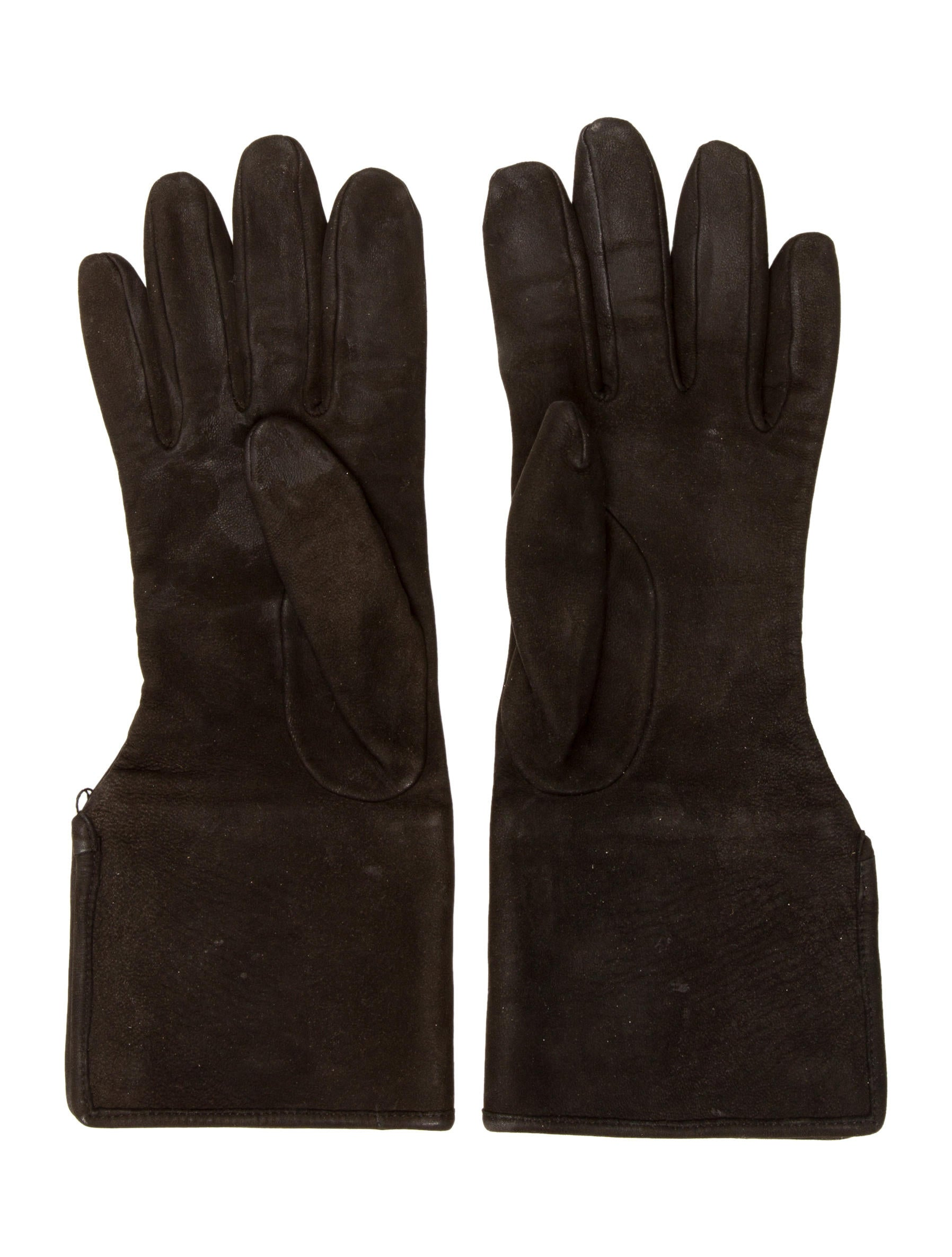Chanel Suede CC Gloves - Accessories - CHA143293 | The ...