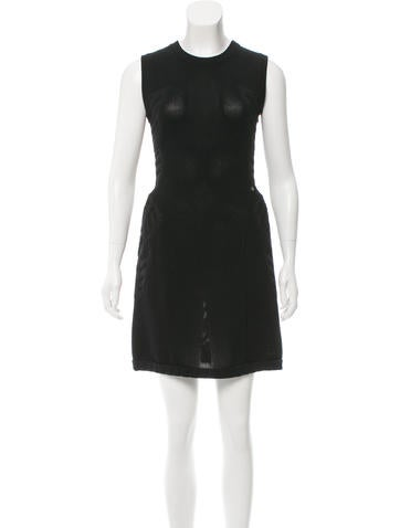 Chanel Wool Mini Dress w/ Tags None