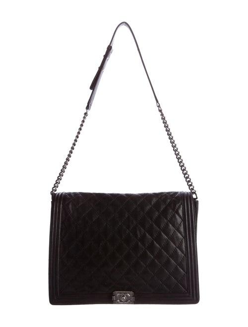 3e69800d6812cd Chanel XL Gentle Boy Flap - Handbags - CHA143510 | The RealReal