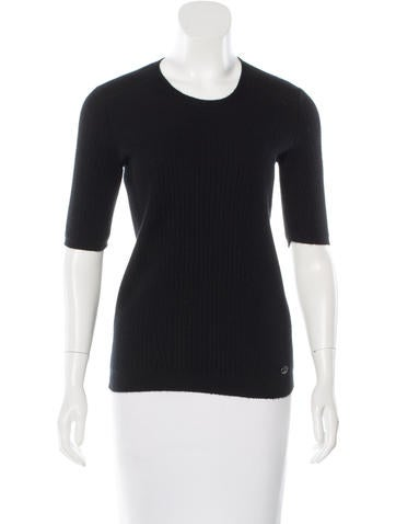 Chanel Paris-Edinburgh Cashmere Sweater None
