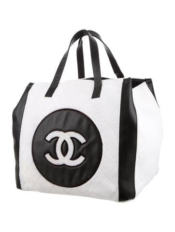 Terry Cloth CC Beach Tote