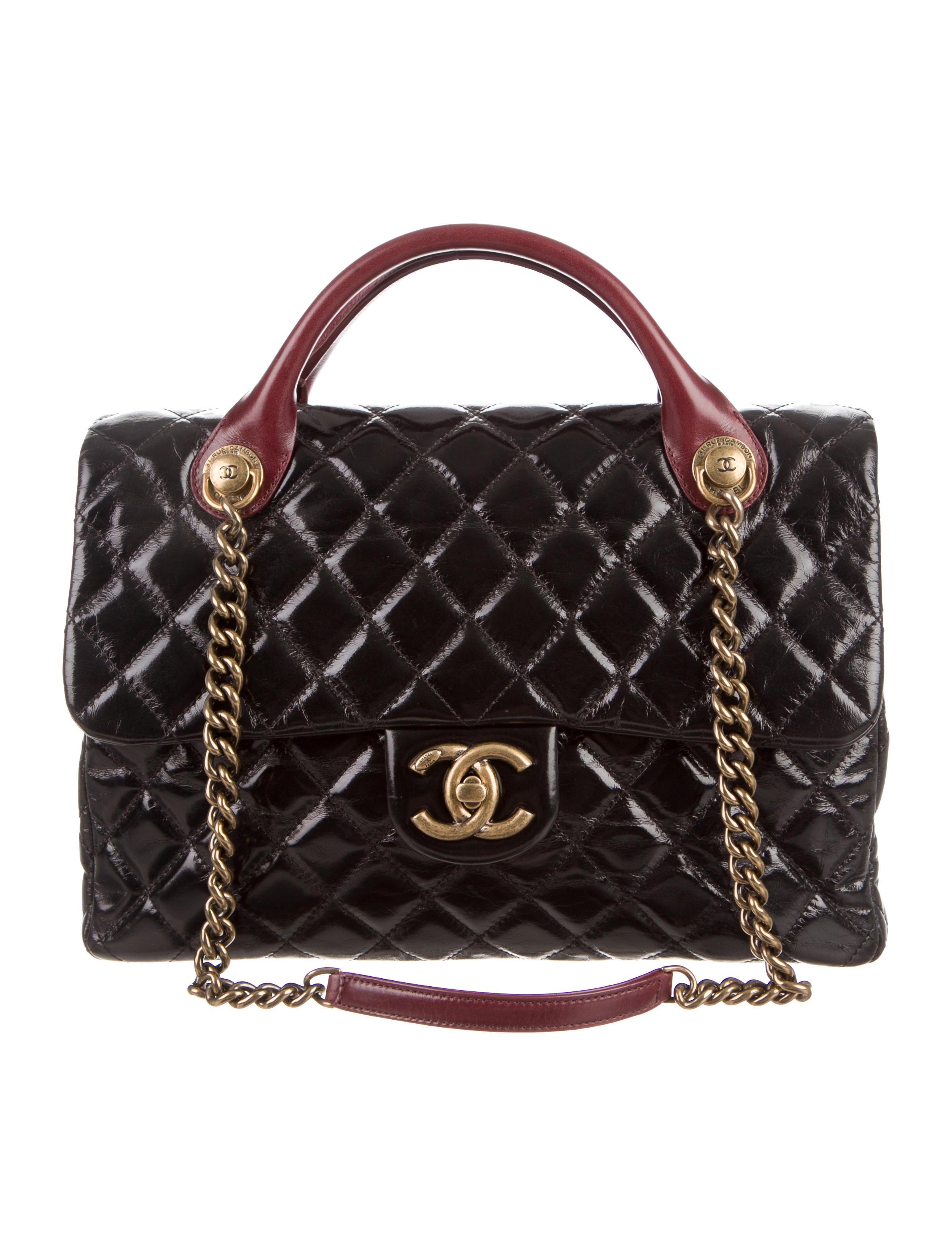 a100a80f5d53 Chanel Large Castle Rock Flap Bag - Handbags - CHA143818 | The RealReal