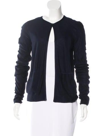 Chanel Cashmere Silk Cardigan None