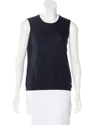 Chanel Cashmere Silk Sleeveless Top w/ Tags None