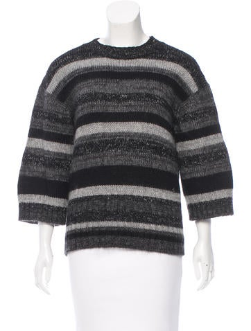 Chanel Cashmere & Mohair Sweater None