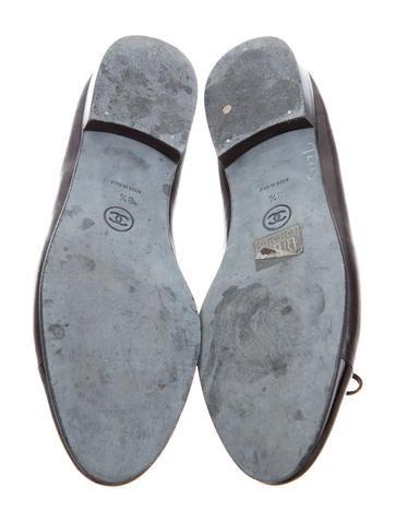 Cap-Toe CC Flats