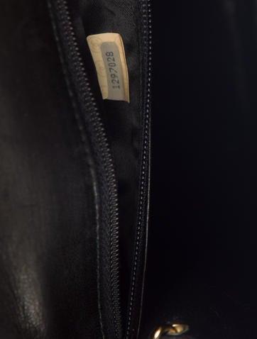 Vintage Straw Flap Bag