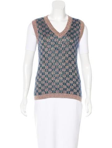 Chanel 2015 Sweater Vest None