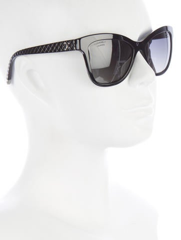 Quilted CC Sunglasses