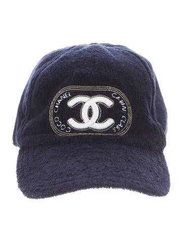 Embellished Terry Cap