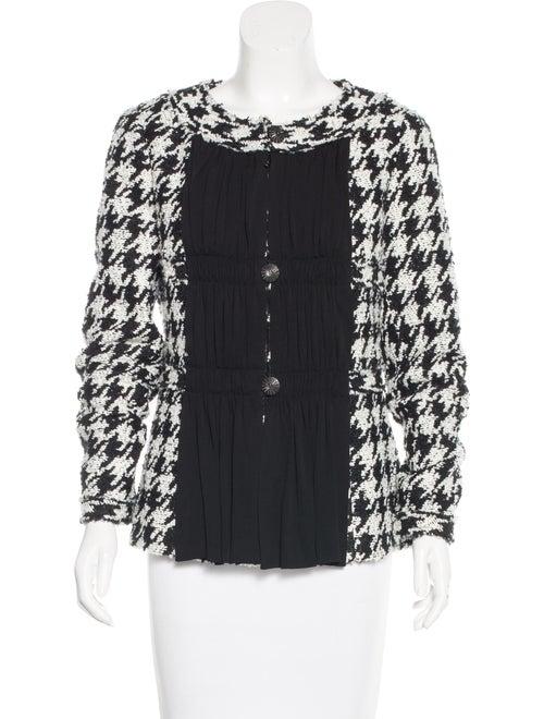 Chanel 2016 Tweed Jacket Black