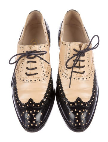 Leather Brogues Oxfords