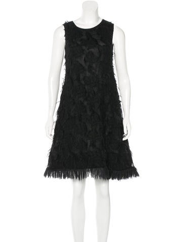 Chanel Mohair Sleeveless Dress None