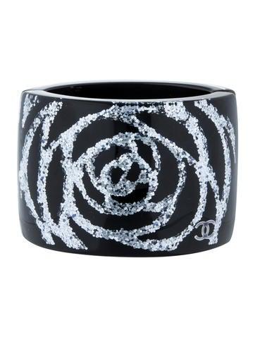 Chanel Paris-Bombay Camellia Cuff