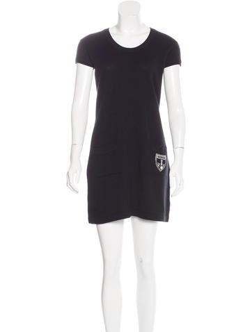 Chanel Embellished Cashmere Dress None