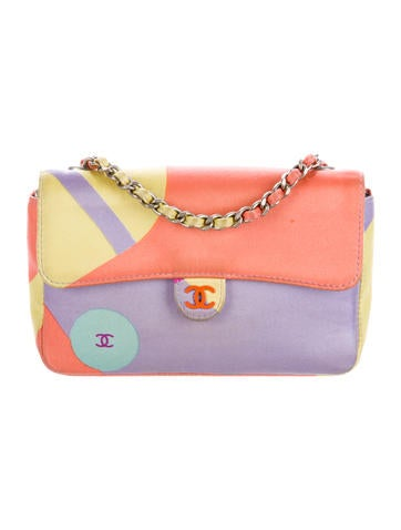 Satin Mini Flap Crossbody