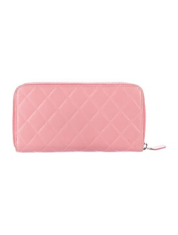 Quilted Lambskin Wallet