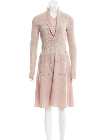 Chanel Wool Dress Set None