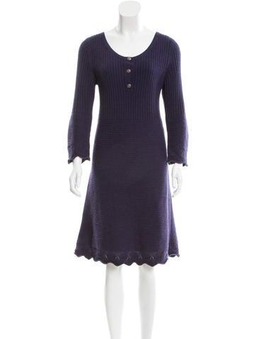 Chanel Cashmere Dress None