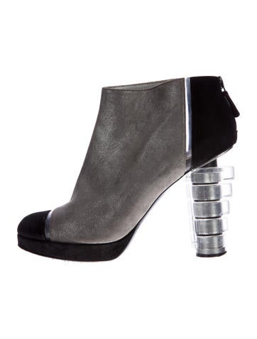 Suede CC Ankle Boots