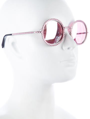 Pearl Round Sunglases