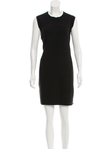Chanel Cashmere-Blend Sweater Dress None