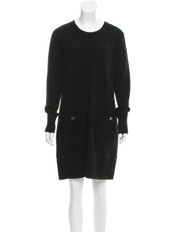 Chanel Cashmere Sweater Dress None