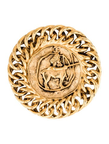 Chanel Mythical Figure Brooch None