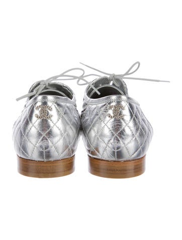 Woven Leather Oxfords