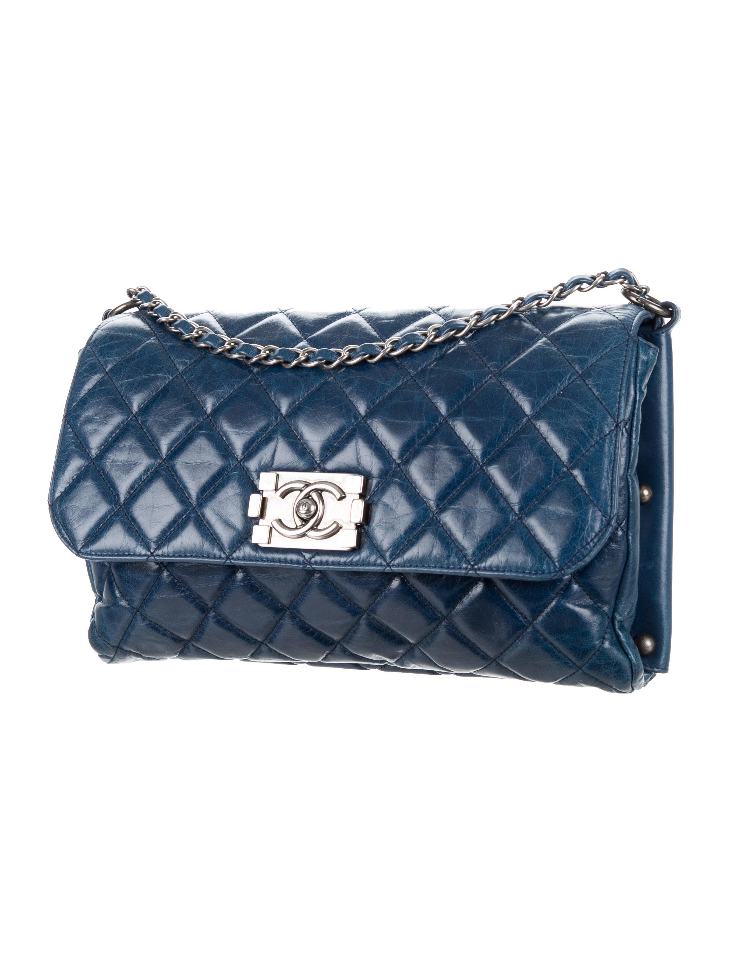 Chanel Quilted Boy Flap Bag - Handbags - CHA150052