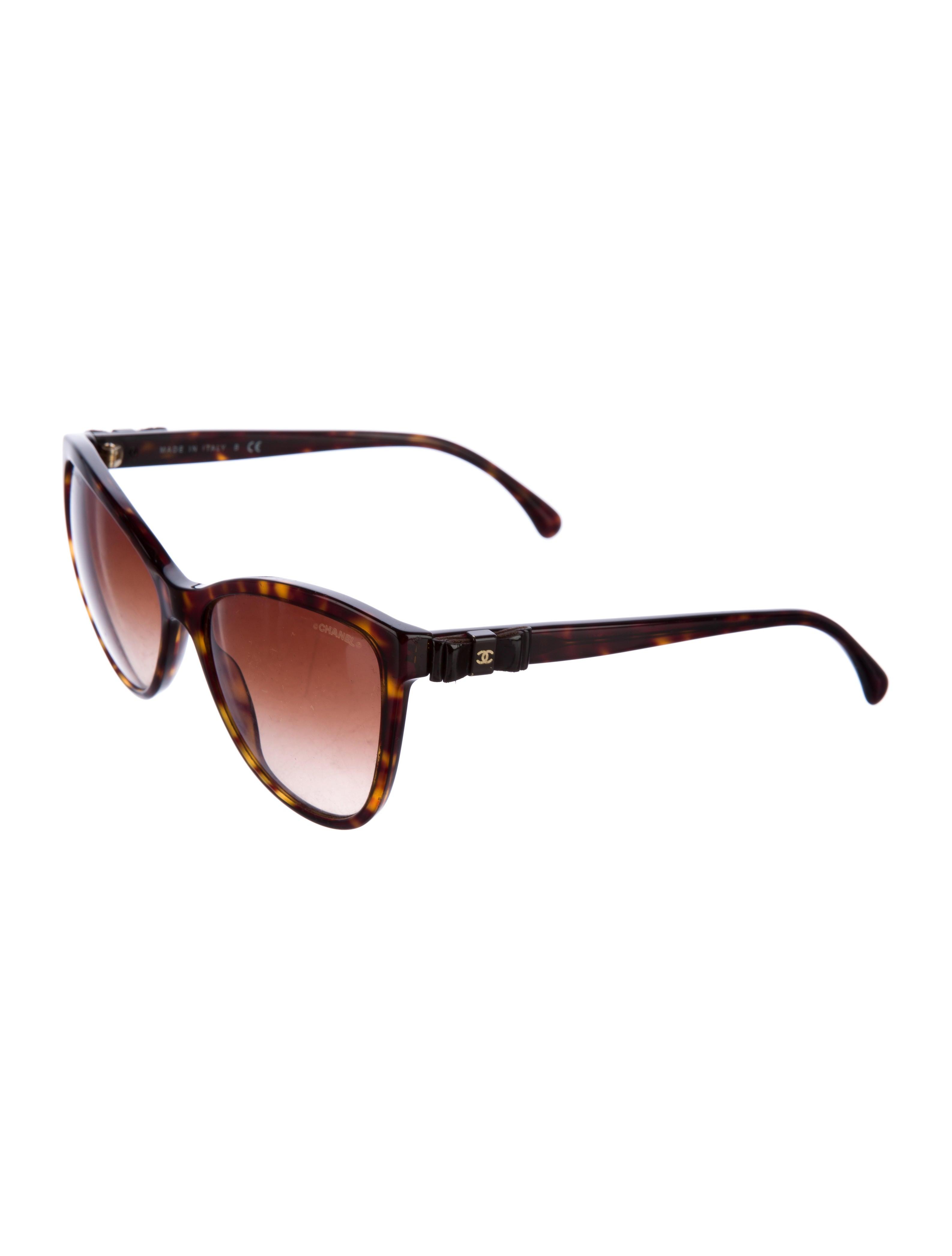 chanel cateye bow sunglasses accessories cha150463