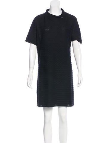 Chanel Knit Shift Dress None