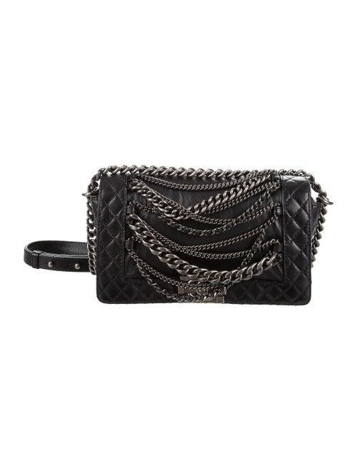 37f8f5e53df1 Chanel Medium Enchained Boy Bag - Handbags - CHA150725   The RealReal