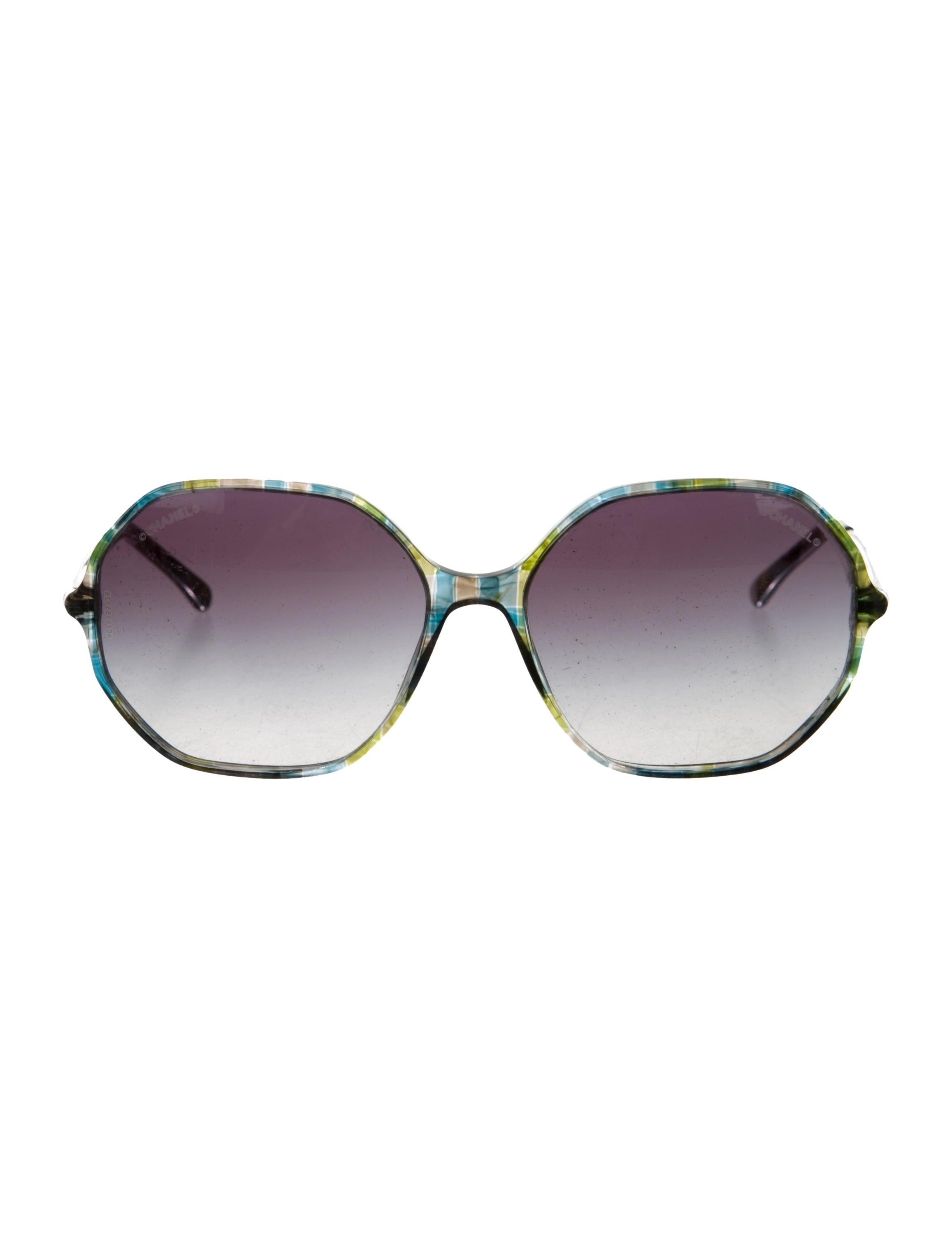 Chanel Round Spring Sunglasses - Accessories