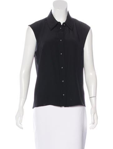 Chanel 2015 Sleeveless Top None