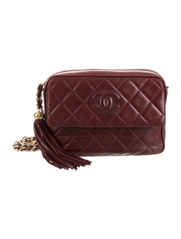 Chanel Quilted Tassel Camera Bag