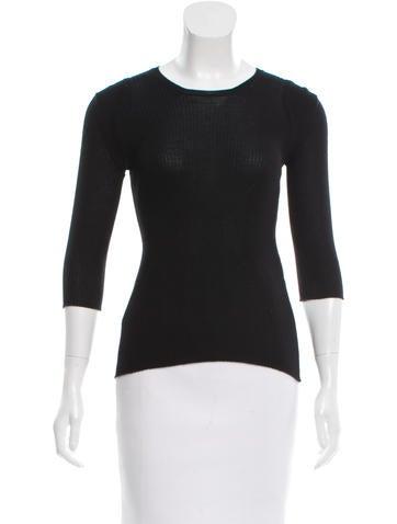 Chanel Cashmere & Silk-Blend None