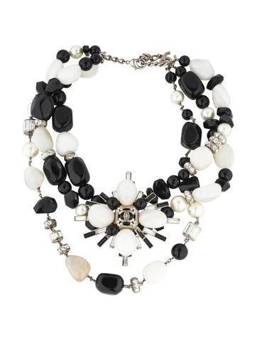 Chanel Multistrand CC Necklace