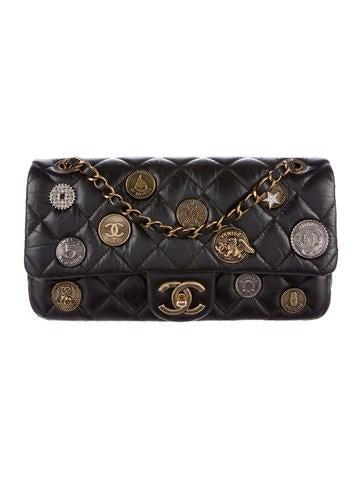 Chanel Cruise 2015 Paris-Dubai Medallion Flap Bag