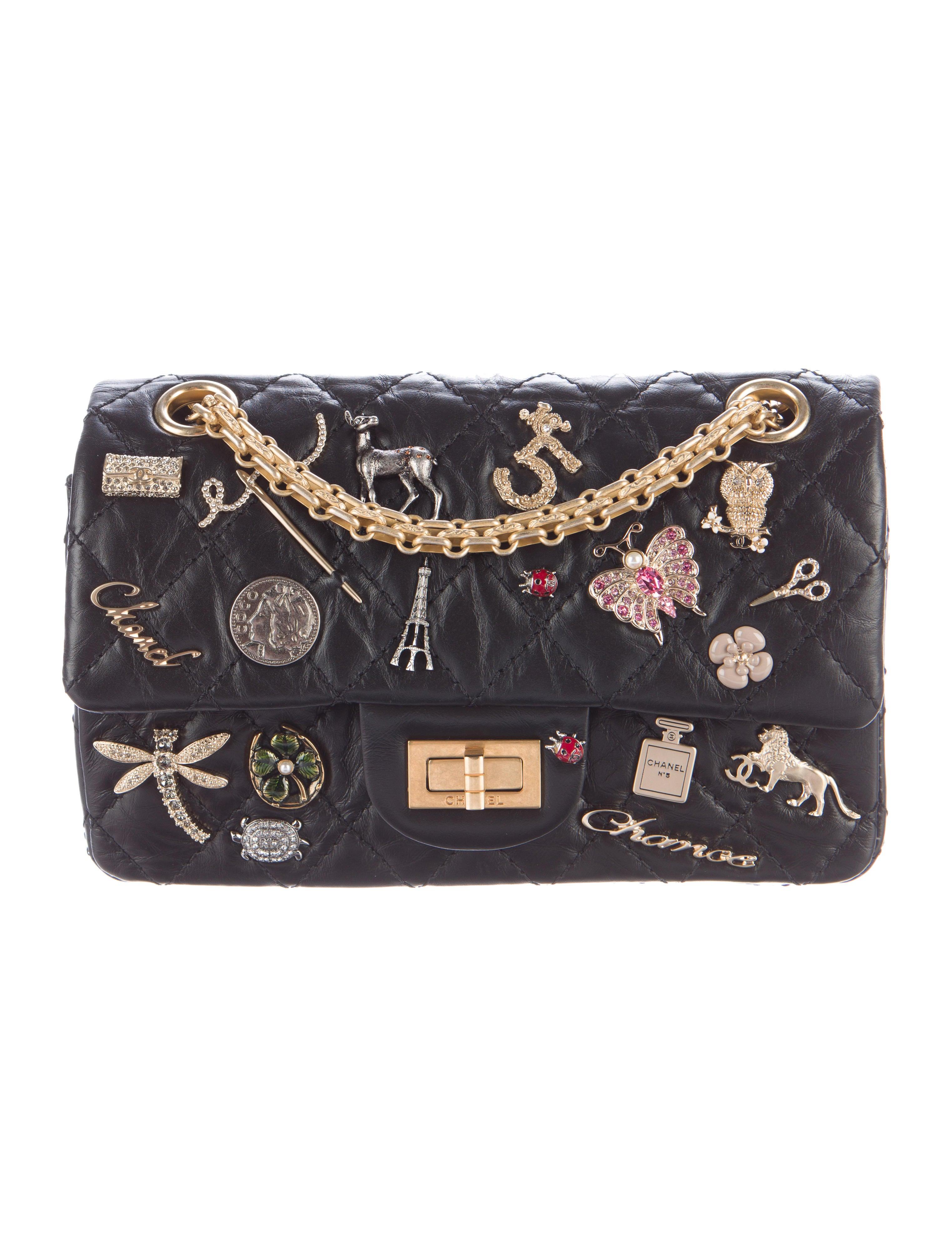 chanel 2017 handbags. 2017 lucky charms 2.55 reissue double flap bag chanel handbags